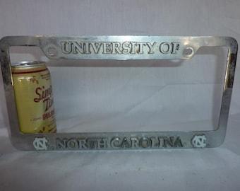 University of North Carolina License Plate Frame - Nice!