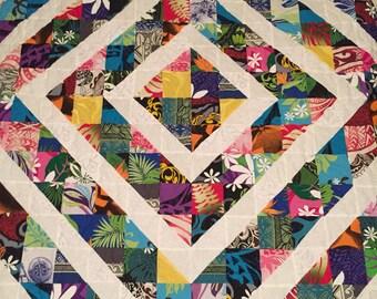 Queen Size Hawaiian Quilt