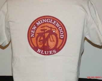 "Grateful Dead Shirt. ""New Minglewood Blues/New Belgium Ale"" mesh up"