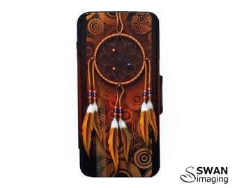 Dreamcatcher Design iPhone Wallet Case ~ iPhone 5 - iPhone 5S - iPhone SE ~ Dreamcatcher iPhone wallet case