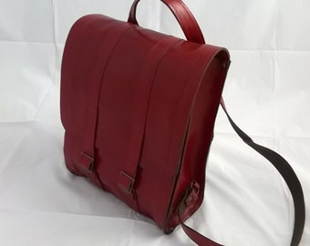 Quality Large Leather Back Pack /  Rucksack. The Rosie.