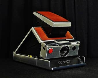 Vintage POLAROID SX-70 Land Instant Print Single-Lens-Reflex (SLR) Rangefinder Folding Camera, Original Model, Circa: 1972~1977, Gorgeous!