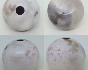 Smoke Fired Vessel / Ceramic / Pottery