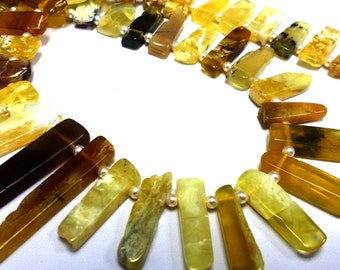 Natural Yellow African Fire Opal