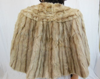 Bein Fur Mink Stole / Cape - Vintage - One Size Fits Most