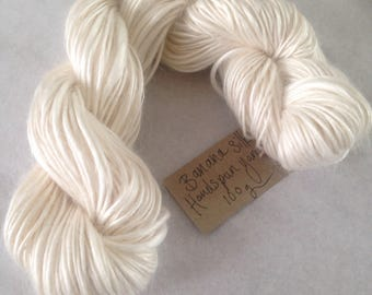 Banana Silk Vegan Yarn Hand Spun Fibre 50g and 100g Skein