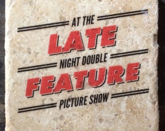 SAMPLE SALE: Late Night Double Feature - Rocky Horror Tile