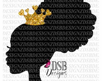 Afro Puff SVG, Afro Puffs SVG, Ethnic svg, African American svg, black hair, kinky, black woman, afro puff, black women, queen svg, princess