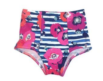High wasited bloomers, baby girl bloomers, bloomers, girl bloomers, toddler high waisted bloomers