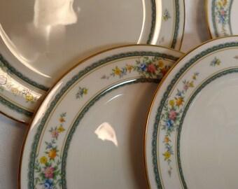 Set of  4 NORITAKE Amenity Salad Plates