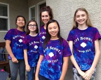 Girl Scout Troop Shirts