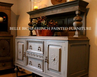 FOR SALE French Grey Painted Edwardian Server Sideboard