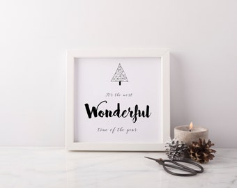 Wonderful Time of The Year Print