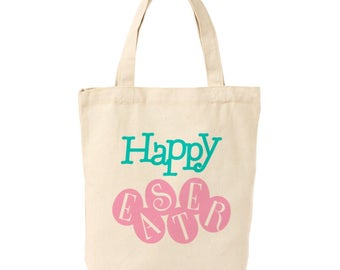 Happy Easter, Iron On Fabric Applique, Easter Eggs, DIY Tee Shirts, Mommie and Me Shirts, DIY Tote Bag, DIY Easter Gift For Kids and Adults