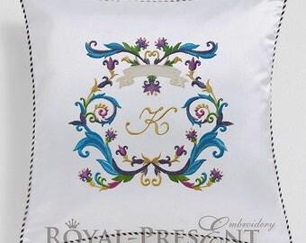 Machine Embroidery Design Louis XIV