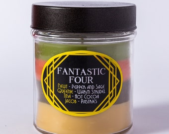 Fantastic Four - Layered Soy Candle