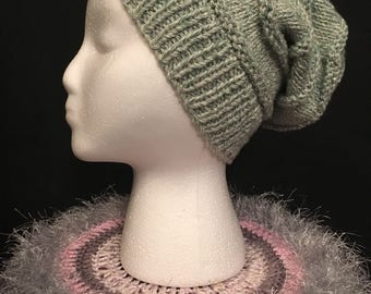 Slouchy Beanie (Knitted)
