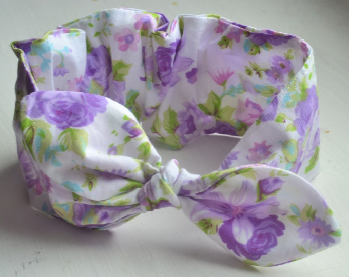 violet baby headband lavender headband violet headband cotton headband violetbaby headwrap girl knot headband summer baby outfit girl turban