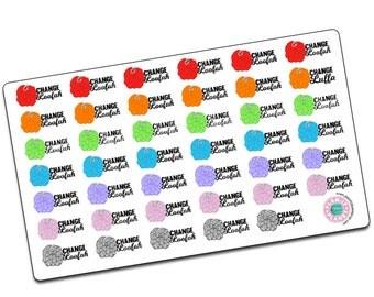 Change Loofa/Loofah Stickers