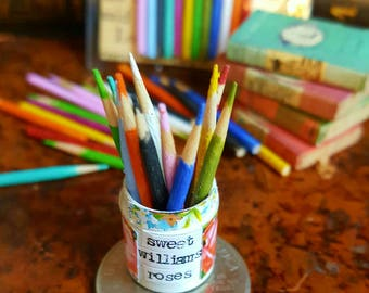 10 Miniature Colored Pencils for Fairy Art Supply