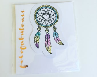 Forever Young Dream Catcher Magnetic Book Mark - Page Marker