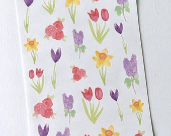 Spring Flower Deco Stickers
