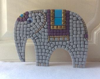 Mosaic Craft Kit  - Elephant - Kids Crafts DIY Gift