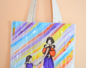 "Eco bag ""Mother love"""