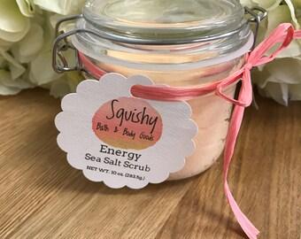 Energy Sea Salt Scrub - 10 oz