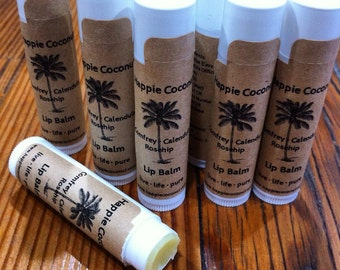 3 Pack-Comfrey Calendula Lip Balm infused with Rosehip
