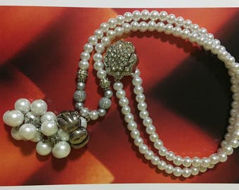 Necklace vintage, craftsman style