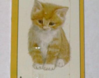 Vintage deck of cat cards
