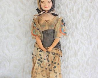 Antique Doll Possibly Eastern European or Italian