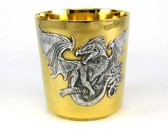"""Silver Glass """"Dragon"""""""