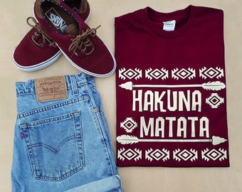 Hakuna Matata Tee  - Perfect for Animal Kingdom and  Great for Disney Vacation!!