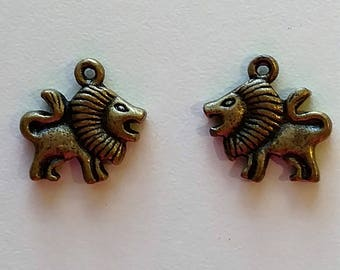 Roaring Lion Charms (2)