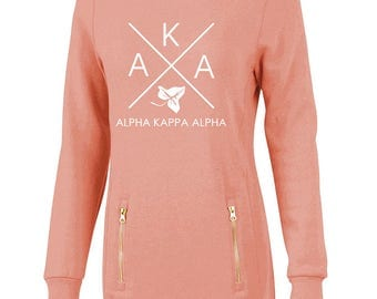 Alpha Kappa Alpha North Hampton Infinity Design Sweatshirt