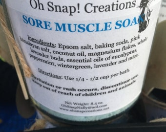 Sore Muscle Soak