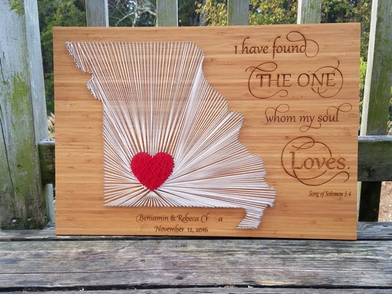 Wedding Gift String Art : ... Sting Art, Wedding Gift, String Art Wall Decor, Engraved, GIFT WRAPPED