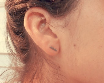 Jewelry for ears - ear cuff - cuff of ear - earrings silver - minimalist - nail - - Silver - gift earcuff