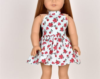 """18 inch doll dress """"Halter Top"""" Doll clothes 18 inch doll clothes"""