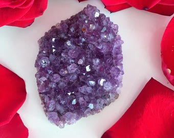 Amethyst Crystal Cluster w/ Reiki Perfect Jewelry Making Supplies