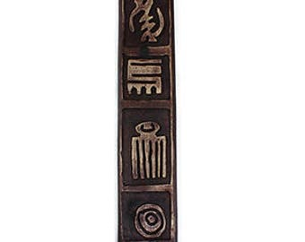 Adinkra Wood Plaque
