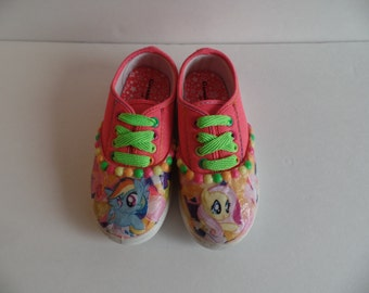 My Little Pony Fluttershy Rainbow Dash Toddler Shoes