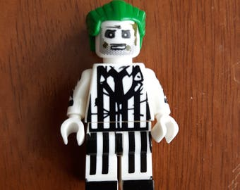 Beetlejuice! Custom Minifigure 100% Lego Compatible!