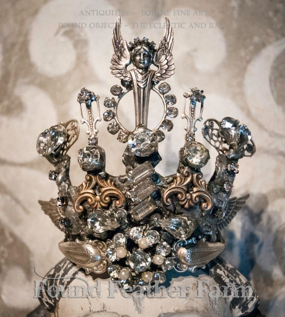 An Exquisite Handmade Original Jeweled Crown
