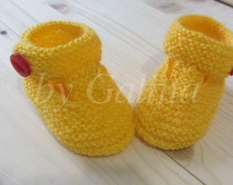 Booties for the baby, socks for babies, children's shoes