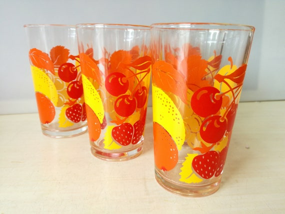 Fruit Glas, various fruits (multiple available)