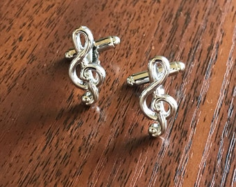 Musical Notes Cufflinks, musical cufflinks, music gifts,treble clef, music jewellery,musical gifts,music sign, best gift for dad,