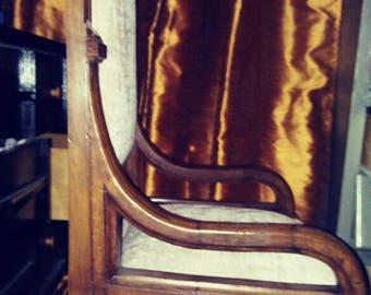 French Empire. Tall armchair Throne chair bergere chair beechwood chair